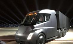 El nuevo camión eléctrico de Tesla