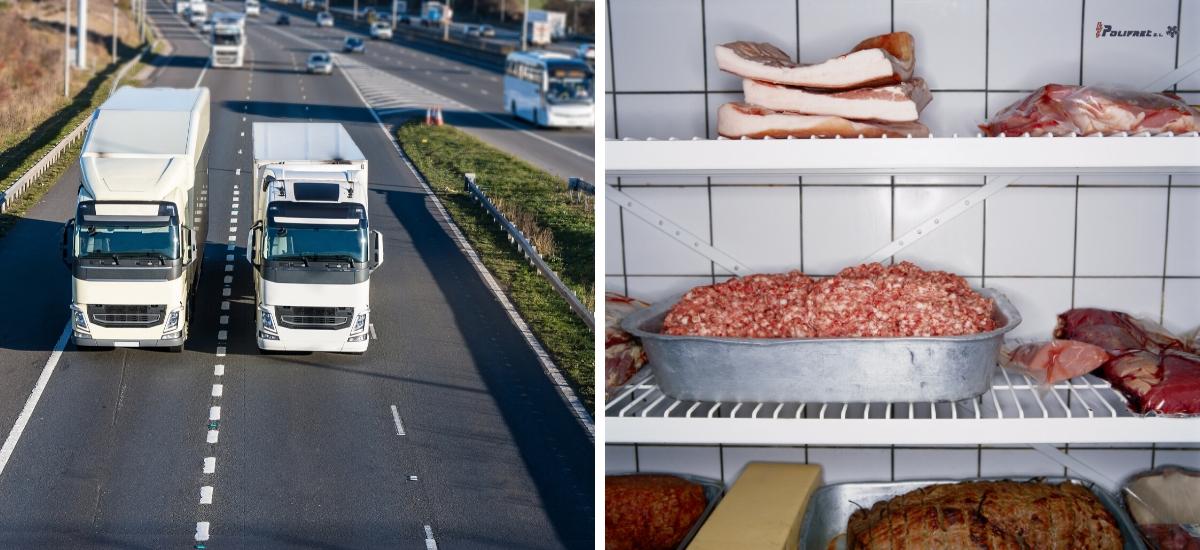 Evitar la perdida de alimentos en posible con el transporte refrigerado